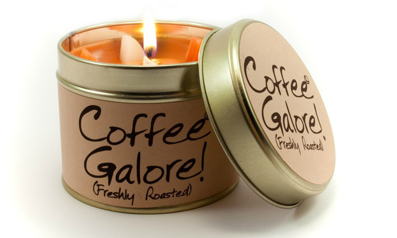 Lily-Flame Coffee Galore Scented Candle