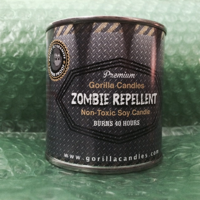 Zombie Repellent Citronella Scented Candle Mosquito Repellent