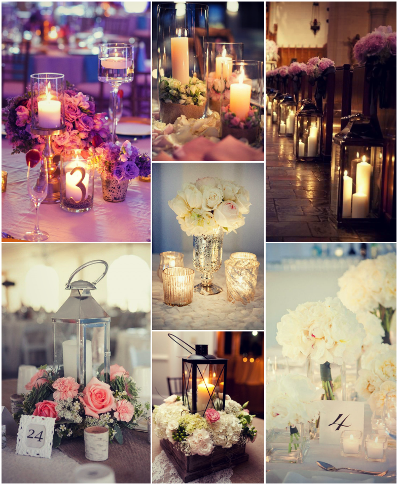 Wedding Candle Decor & Accessories