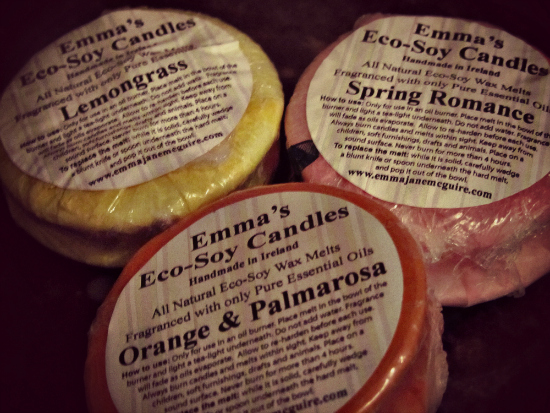 Emma's Eco Soy Candles Wax Tarts