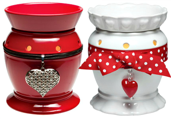 Be Mine and Valentine Full Size Premium Scentsy Warmers
