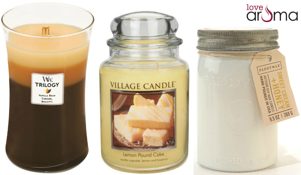 Desset Scented Candles from Love Aroma