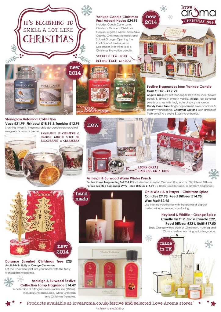 Christmas Home Fragrances & Gift Ideas from Love Aroma 2