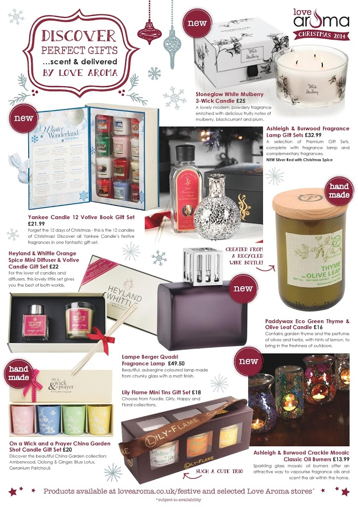 Christmas Home Fragrances & Gift Ideas from Love Aroma 3