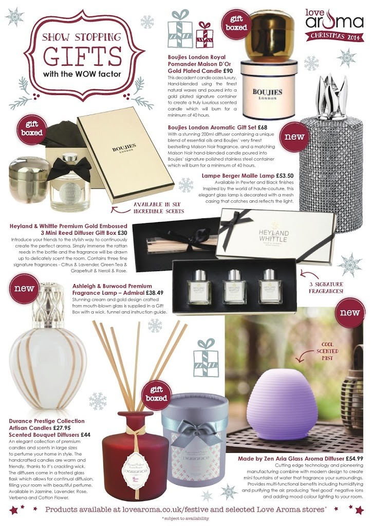 Christmas Home Fragrances & Gift Ideas from Love Aroma 4