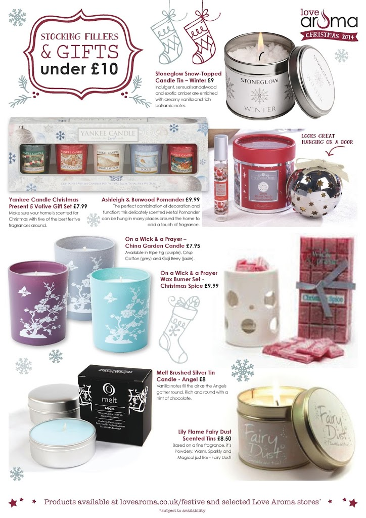 Christmas Home Fragrances & Gift Ideas from Love Aroma 5