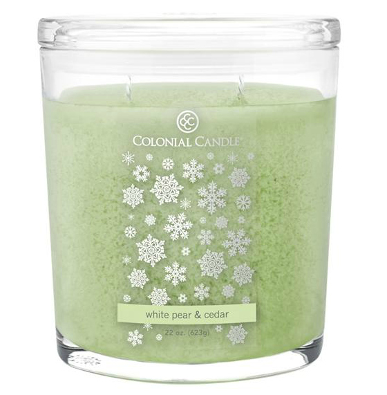Colonial Candle White Pear and Cedar