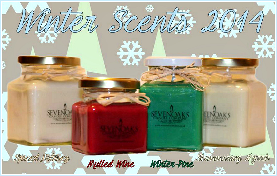 Sevenoaks Candle Co. Christmas Scents