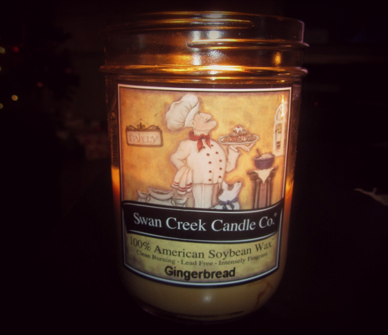 Swan Creek Gingerbread Candle Review from The Old Stable Store