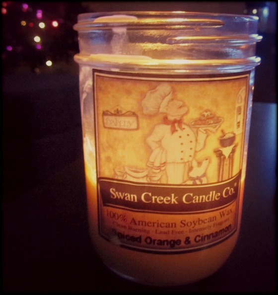 Swan Creek Spiced Orange & Cinnamon Candle from The Old Stable Store