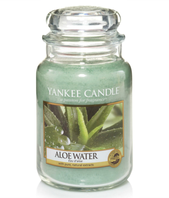 Aloe Water – Clean, refreshing water blends with thick, soothing aloe to create a wonderfully relaxing fragrance experience.