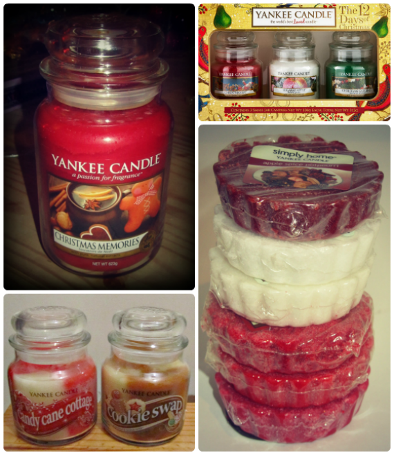 Yankee Candle Christmas Haul 1