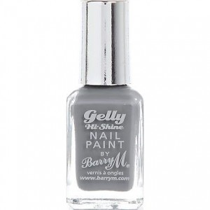 Barry M Gelly Grey Nail Paint