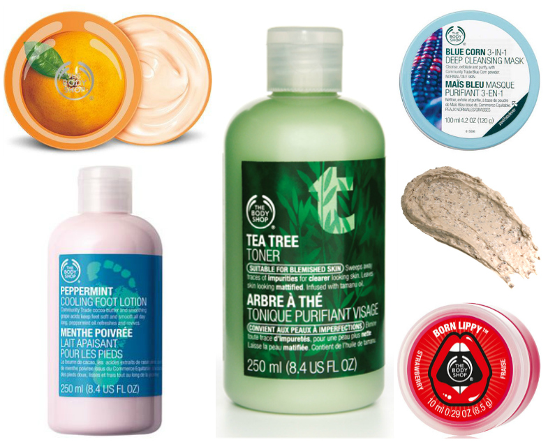 The Body Shop Top 5 Products