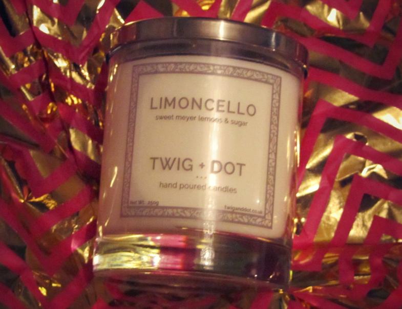Twig+Dot Limoncello Candle