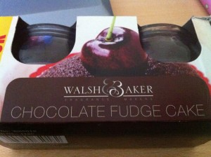 Walsh & Baker Chocolate Fudge Cake Candle