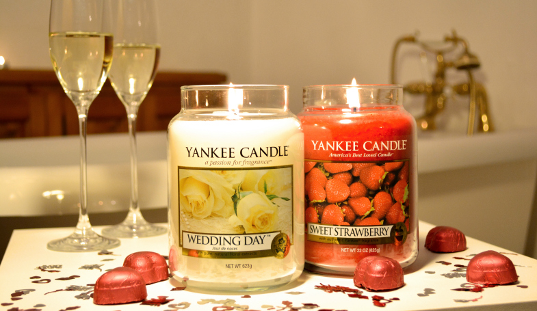 Yankee Candle Wedding Day and Sweet Strawberry