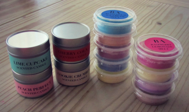 Bombs Away Cosmetics Candle & Wax Melts Haul