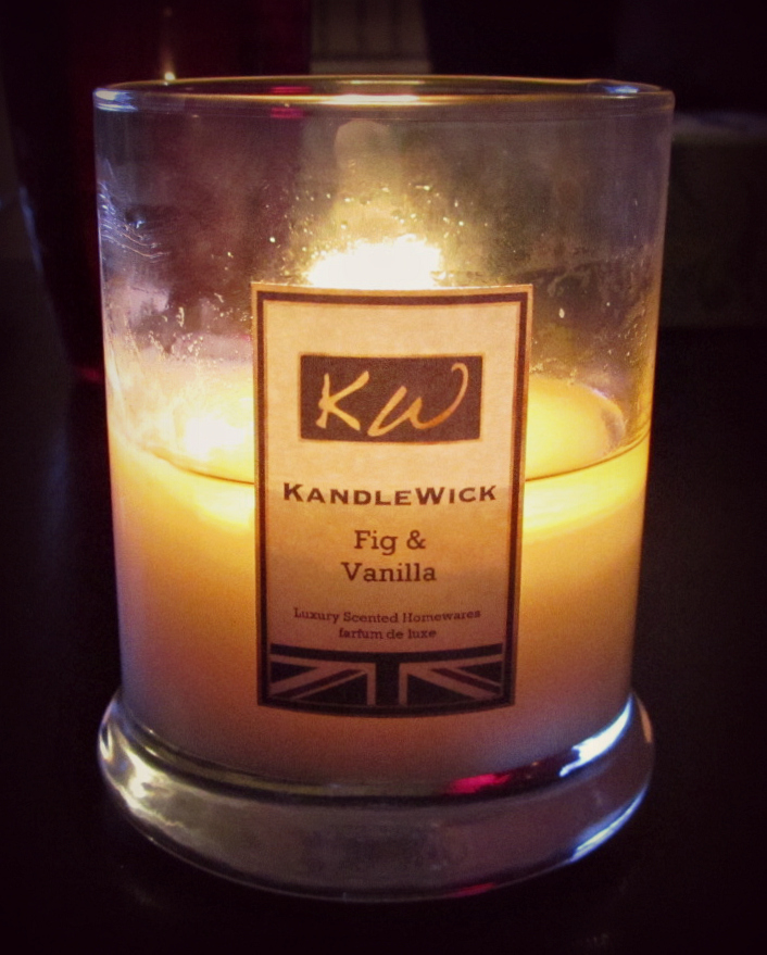 KandleWick Fig & Vanilla Candle Review