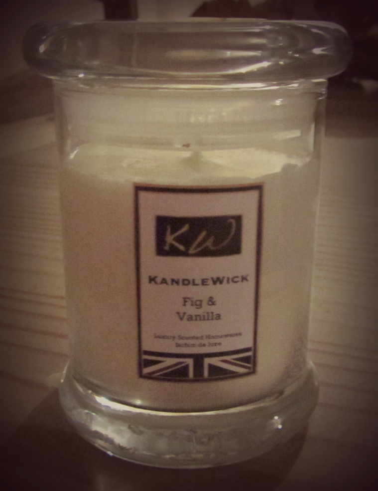 KandleWick Fig & Vanilla Candle