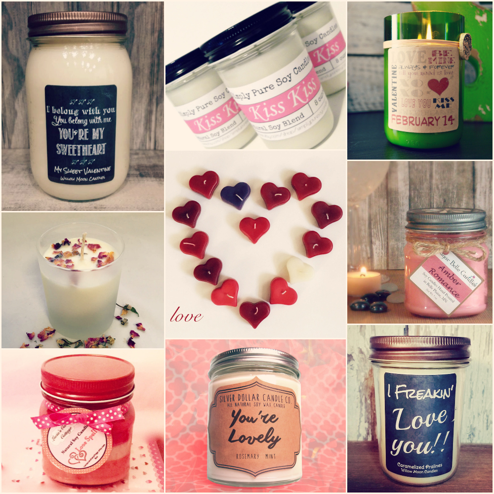 Valentine's Day Candles Romantic Candles Sexy Scents