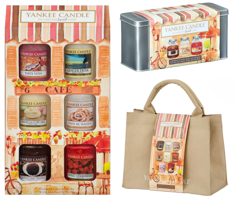 Yankee Candle Cafe Culture Collection Gift Sets