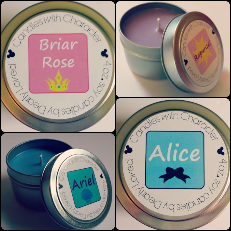 Briar Rose, Rapunzel, Ariel and Alice.
