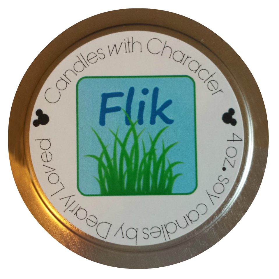 CANDLES WITH CHARACTER Flik Candle