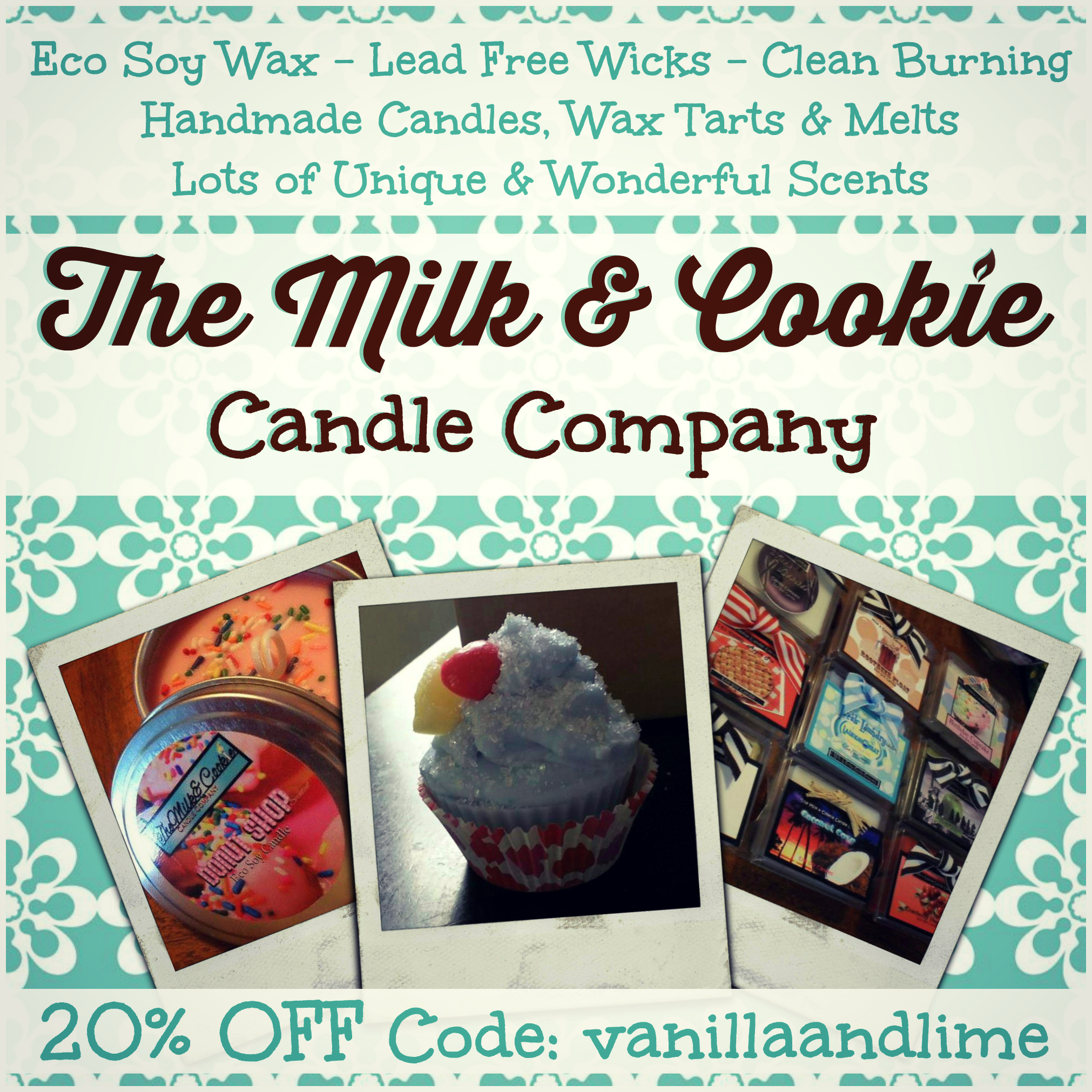 Milk & Cookie Candle Company