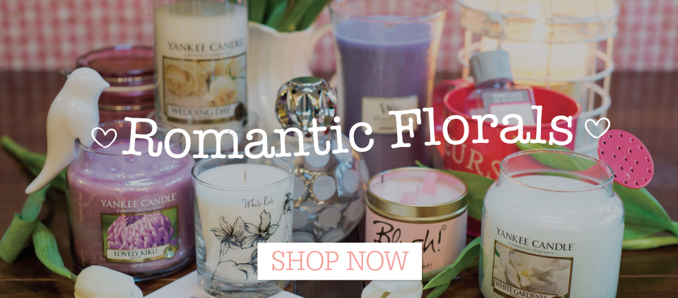 Romantic Florals - Wedding Gift Ideas from Love Aroma