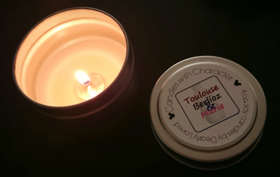 "CANDLES WITH CHARACTER ""Toulouse, Berlioz & Marie"" Candle Review"
