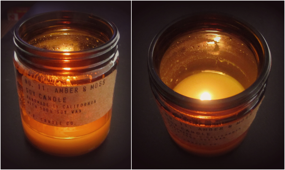 P.F. Candle Co. No.11 Amber & Moss