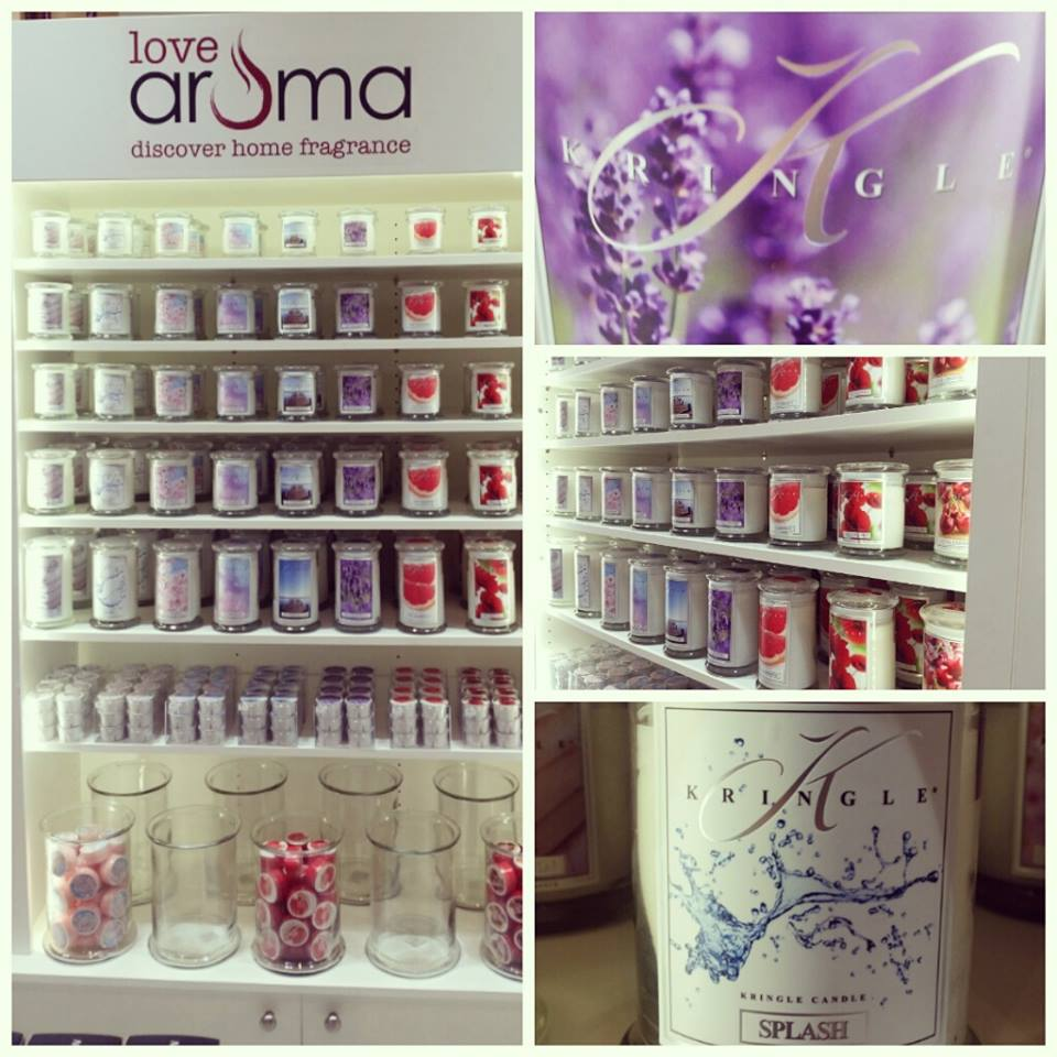 Kringle Candles at Love Aroma