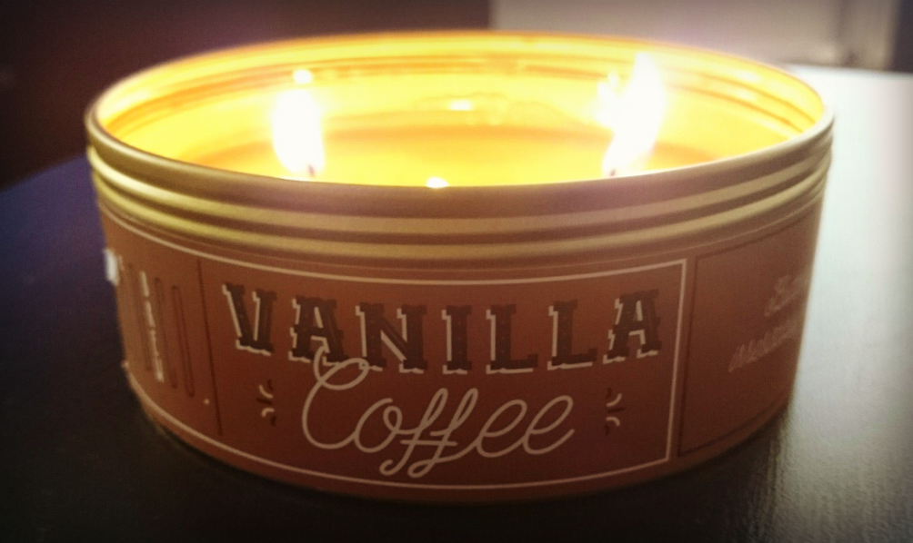 Makers of Wax Goods Vanilla Coffee Candle 1