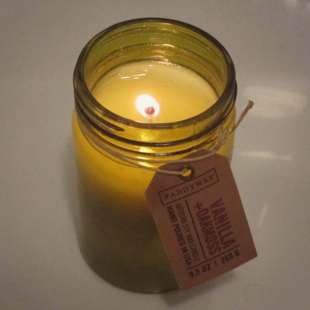 Paddywax Relish Vanilla & Oakmoss Candle Review