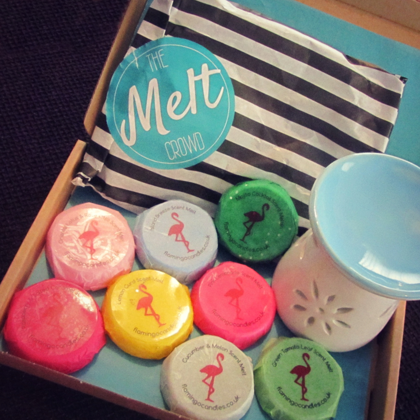 The Melt Crowd from Flamingo Candles