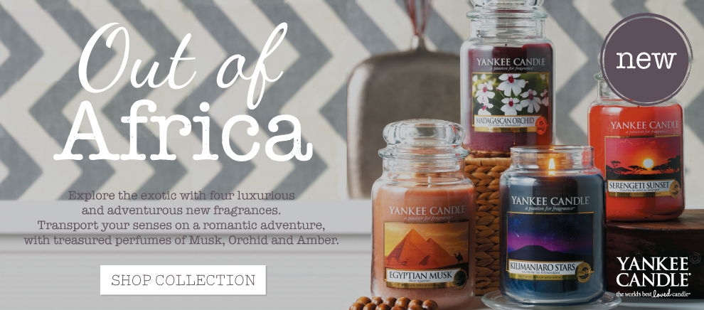 Yankee Candle Out of Africa Collection