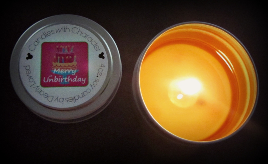 CANDLES WITH CHARACTER Merry Unbirthday Candle Review