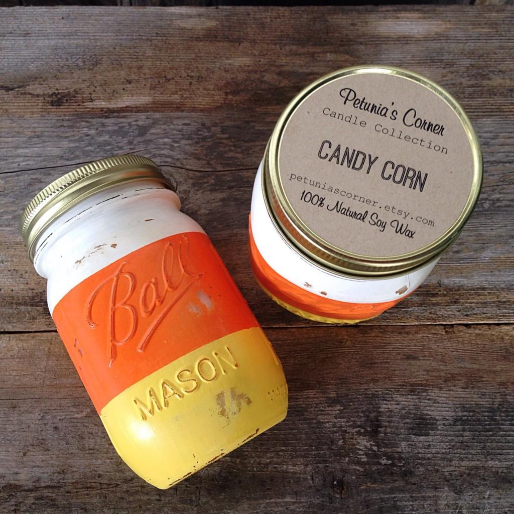 Candy Corn Petunia's Corner