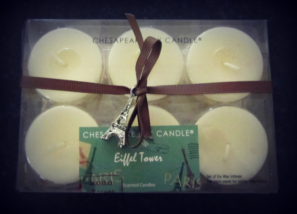 Eiffel Tower Chesapeake Bay Candles
