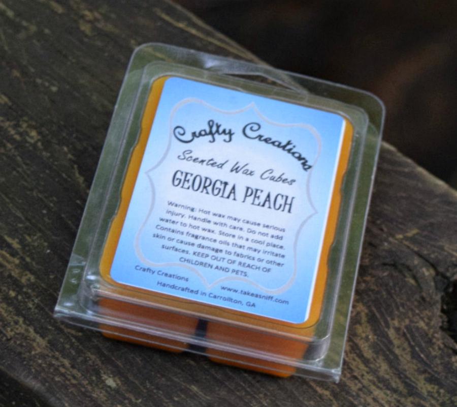 Georgia Peach Wax Melts