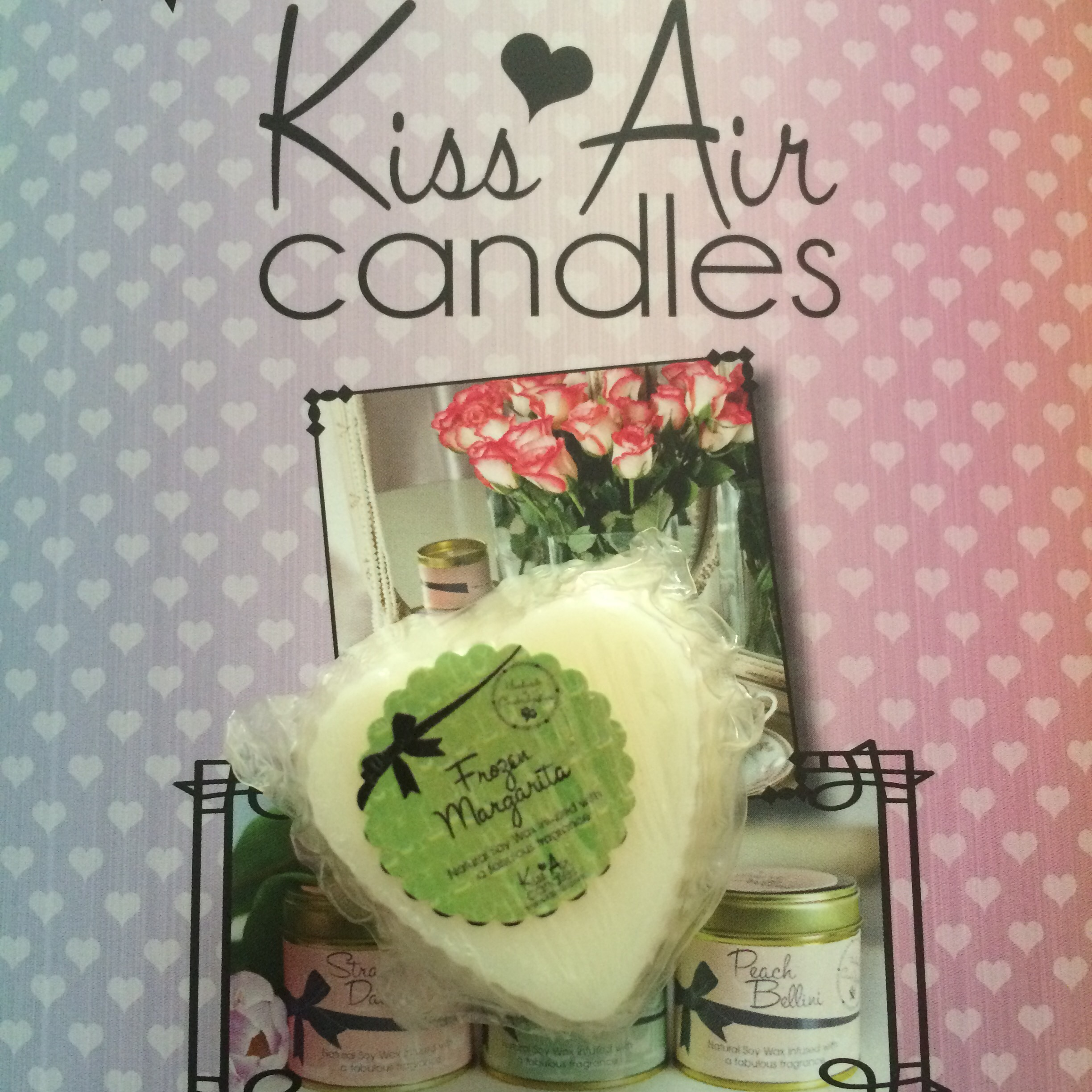 Kiss Air Candles Frozen Margarita Wax Melt Review