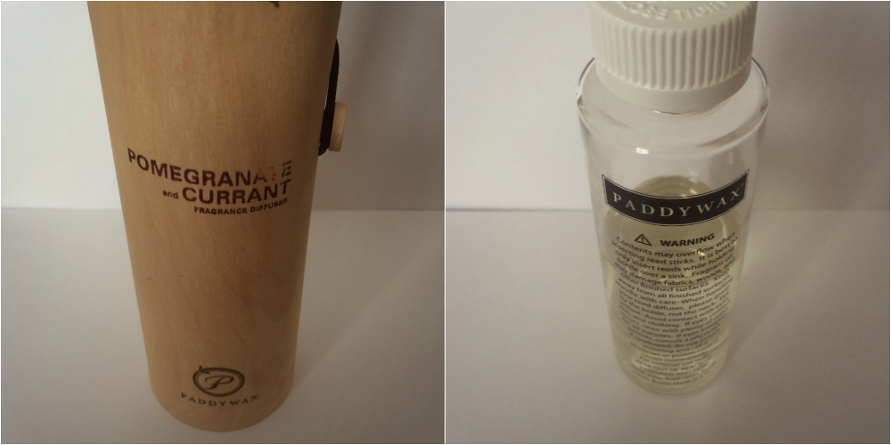 Paddywax Eco Green Pomegranate & Currant Diffuser Review