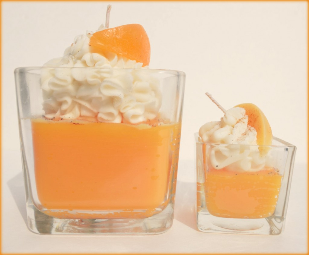 Peach Pie Gourmet Jar Candle - Scented Candle, Jar Candle In Peach Pie Scent