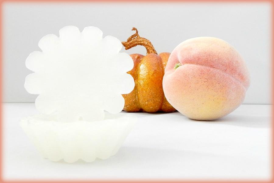 Peach & Pumpkin Pie Scented Wax Melts Set of 5 Candle Tarts