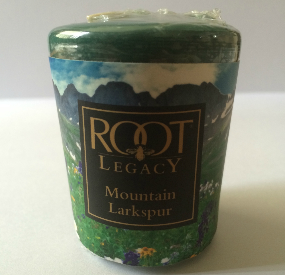 Root Legacy Mountain Larkspur Candle Review