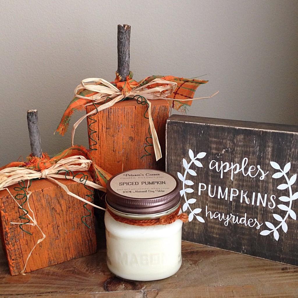 Spiced Pumpkin Petunia's Corner
