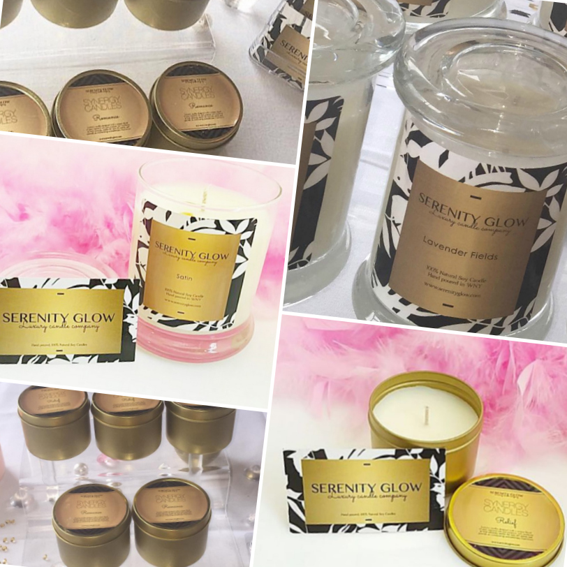 Serenity Glow Candles
