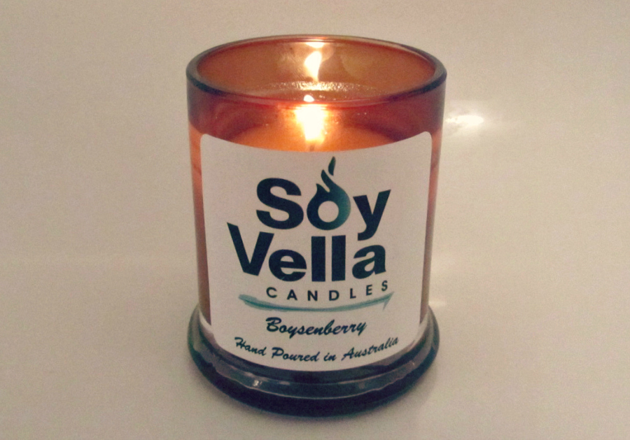 Soy Vella Boysenberry Candle Review 1