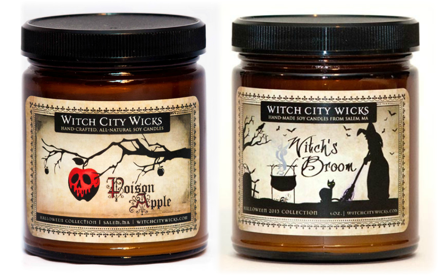 Witch City Wicks Halloween Candles